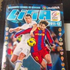 Álbum de fútbol completo: ALBUM CROMOS FUTBOL LIGA ESTE 2011 2012 MESSI VS CRISTIANO 11 12. Lote 178985107