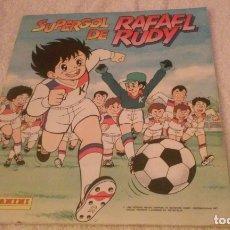 Album de football complet: SUPERGOL DE RAFAEL RUDY (PANINI 1988) ALBUM COMPLETO CON SUS 240 CROMOS. Lote 178987446