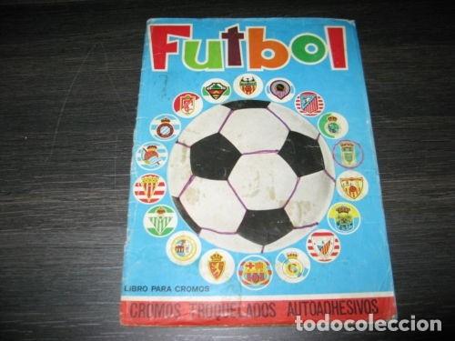 ALBUM COMPLETO FUTBOL 1975 MAGA CROMOS TROQUELADOS LIGA 1975-76 (Coleccionismo Deportivo - Álbumes y Cromos de Deportes - Álbumes de Fútbol Completos)