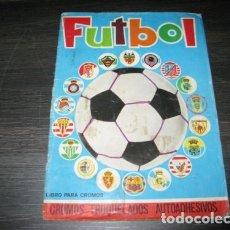 Álbum de fútbol completo: ALBUM COMPLETO FUTBOL 1975 MAGA CROMOS TROQUELADOS LIGA 1975-76. Lote 179008010