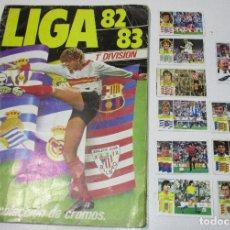 Álbum de fútbol completo: ÁLBUM CROMOS FÚTBOL LIGA 82-83 ESTE CON 142 CROMOS, LEER DESCRIPCIÓN. Lote 179047712