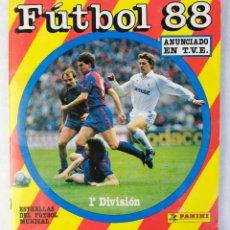 Álbum de fútbol completo: ÁLBUM DE FÚTBOL 88 1ªDIVISIÓN PANINI-COMPLETO. Lote 179078253