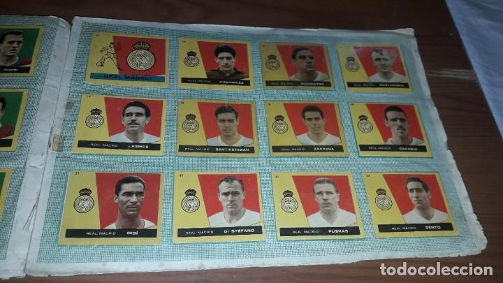 Álbum de fútbol completo: ÁLBUM CAMPEONES DE BRUGUERA 1960 COMPLETO Y CON DOBLES - Foto 4 - 179226367