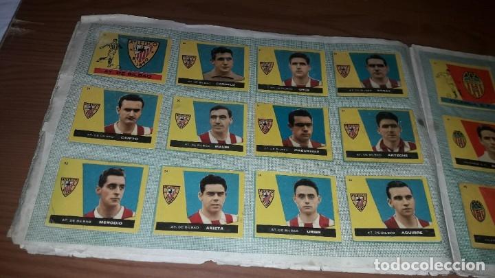 Álbum de fútbol completo: ÁLBUM CAMPEONES DE BRUGUERA 1960 COMPLETO Y CON DOBLES - Foto 5 - 179226367