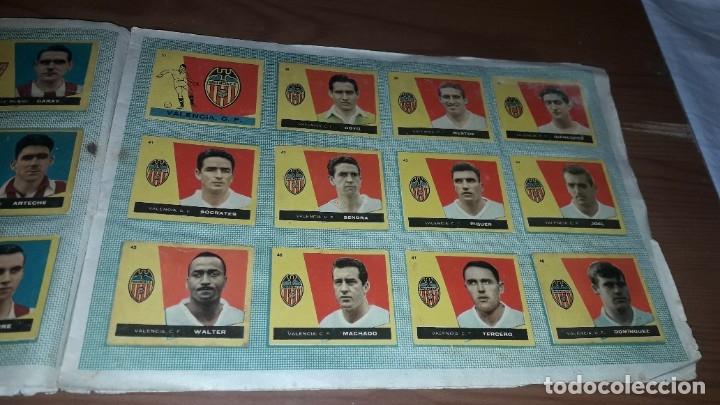 Álbum de fútbol completo: ÁLBUM CAMPEONES DE BRUGUERA 1960 COMPLETO Y CON DOBLES - Foto 6 - 179226367