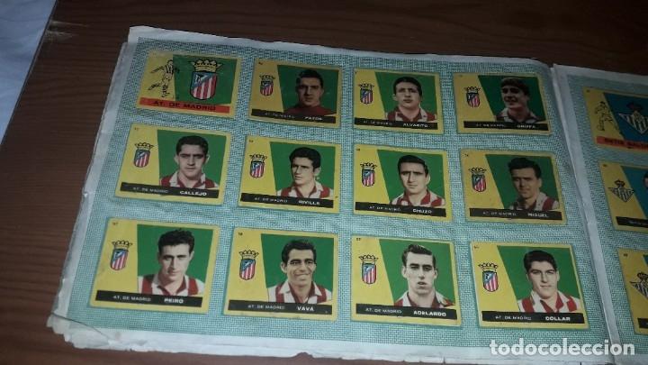 Álbum de fútbol completo: ÁLBUM CAMPEONES DE BRUGUERA 1960 COMPLETO Y CON DOBLES - Foto 7 - 179226367