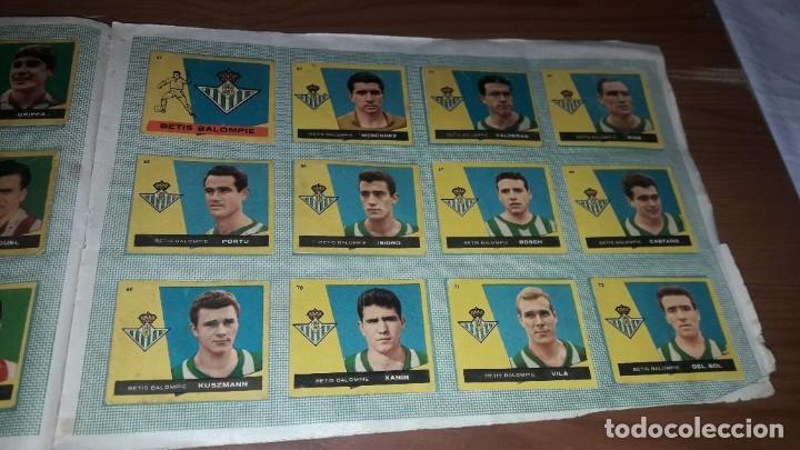 Álbum de fútbol completo: ÁLBUM CAMPEONES DE BRUGUERA 1960 COMPLETO Y CON DOBLES - Foto 8 - 179226367