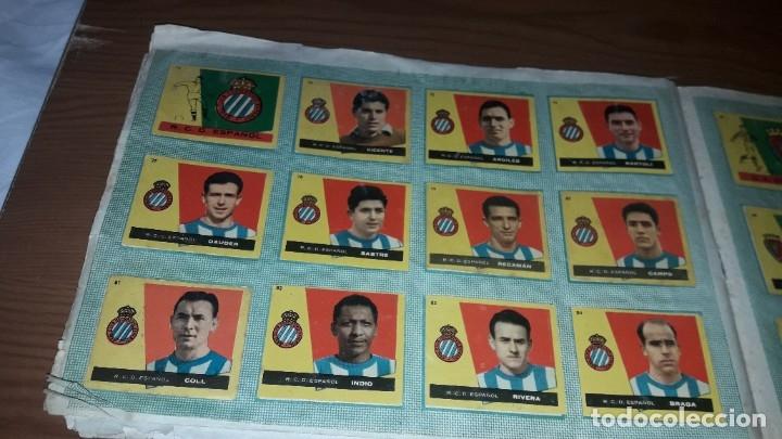 Álbum de fútbol completo: ÁLBUM CAMPEONES DE BRUGUERA 1960 COMPLETO Y CON DOBLES - Foto 9 - 179226367