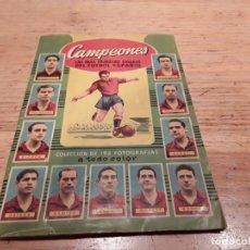 Álbum de fútbol completo: CAMPEONES BRUGUERA COMPLETO, 53 54.. Lote 179349541