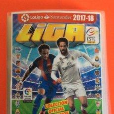 Álbum de fútbol completo: LIGA ESTE 2017-2018 -ÁLBUM COMPLETO EN CLASIFICADOR CON LOS ERRORES - NUEVO LEER DETALLES. Lote 179536951