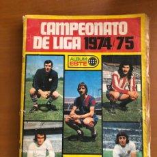 Álbum de fútbol completo: CAMPEONATO DE LIGA 1974 75 ESTE. Lote 180111961