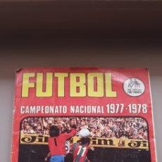 Álbum de fútbol completo: ALBUM COMPLETO RUIZ ROMERO LIGA 77 78 1977 1978 CAMPEONATO NACIONAL CAMPEONATOS NACIONALES. Lote 180219313