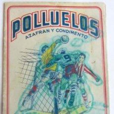 Álbum de fútbol completo: POLLUELOS 5 COMPLETO 16 EQUIPOS DE 1 Y 1 DE SEGUNDA REAL JAEN- AZAFRANES NOVELDA. Lote 180233071