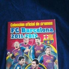 Caderneta de futebol completa: FC BARCELONA PANINI 2011-2012 COMPLETO BUEN ESTADO. Lote 180239668
