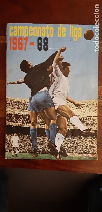 CAMPEONATO DE LIGA 1967 1968 67 68 COMPLETO CON TODOS LOS ESCUDOS Y 11 COLOCAS. FHER DISGRA. RARO. (Coleccionismo Deportivo - Álbumes y Cromos de Deportes - Álbumes de Fútbol Completos)