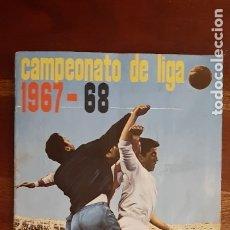 Álbum de fútbol completo: CAMPEONATO DE LIGA 1967 1968 67 68 COMPLETO CON TODOS LOS ESCUDOS Y 11 COLOCAS. FHER DISGRA. RARO.. Lote 180275507