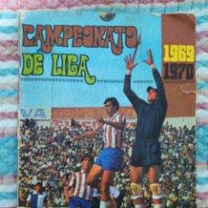 Álbum de fútbol completo: ÁLBUM COMPLETO FÚTBOL CAMPEONATO DE LIGA 1969-1970, EXCLUSIVAS DISGRA ADMINISTRADA * EDITORIAL FHER. Lote 180280745