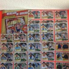 Álbum de fútbol completo: LIGA ESTE - 2016-2017 COLECCIÓN COMPLETA -MERCADO DE INVIERNO + ACTUALIZACIÓN-SIN PEGAR NUEVO. Lote 180291182