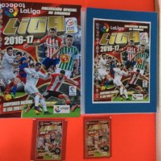 Álbum de fútbol completo: LIGA ESTE 2016-2017, COLECCIÓN COMPLETA TODO LO EDITADO CON LOS ERRORES EN CLASIFICADOR -NUEVO. Lote 180293416