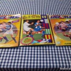 Álbum de fútbol completo: LIGA ESTE LOTE DE TRES ALBUM DOS 94 95 COMPLETOS + 95 96. Lote 180445448