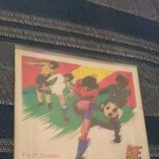 Álbum de fútbol completo: FUTBOL 82, AFE 1 Y 2 DIVISÓN, AUTOADHESIVOS, COMPLETO. Lote 180415340