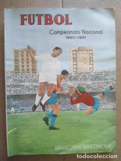 Álbum de fútbol completo: ALBUM COMPLETO FUTBOL 1960/61 EDITORIAL FERCA,EN EXCELENTE ESTADO - Foto 2 - 33343843