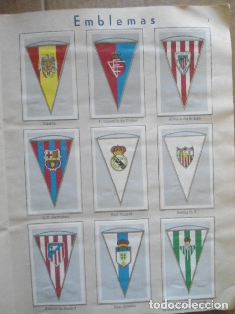 Álbum de fútbol completo: ALBUM COMPLETO FUTBOL 1960/61 EDITORIAL FERCA,EN EXCELENTE ESTADO - Foto 4 - 33343843