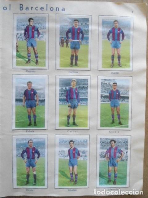 Álbum de fútbol completo: ALBUM COMPLETO FUTBOL 1960/61 EDITORIAL FERCA,EN EXCELENTE ESTADO - Foto 6 - 33343843