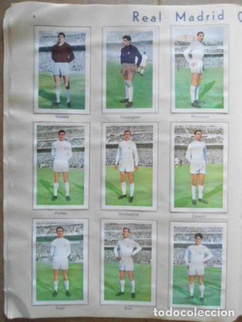 Álbum de fútbol completo: ALBUM COMPLETO FUTBOL 1960/61 EDITORIAL FERCA,EN EXCELENTE ESTADO - Foto 7 - 33343843