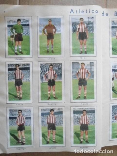 Álbum de fútbol completo: ALBUM COMPLETO FUTBOL 1960/61 EDITORIAL FERCA,EN EXCELENTE ESTADO - Foto 9 - 33343843