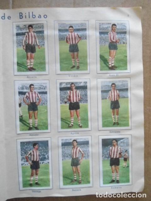 Álbum de fútbol completo: ALBUM COMPLETO FUTBOL 1960/61 EDITORIAL FERCA,EN EXCELENTE ESTADO - Foto 10 - 33343843