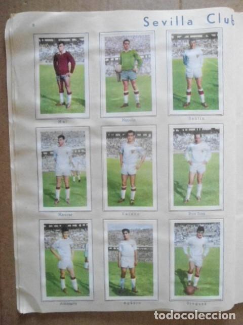 Álbum de fútbol completo: ALBUM COMPLETO FUTBOL 1960/61 EDITORIAL FERCA,EN EXCELENTE ESTADO - Foto 11 - 33343843