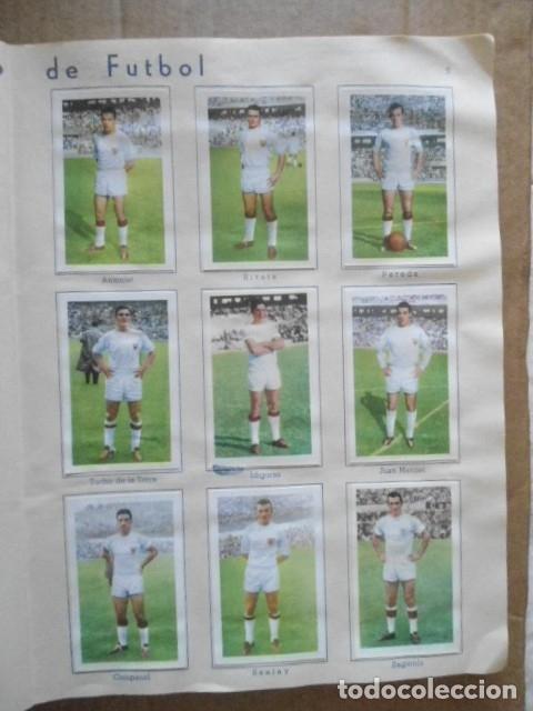 Álbum de fútbol completo: ALBUM COMPLETO FUTBOL 1960/61 EDITORIAL FERCA,EN EXCELENTE ESTADO - Foto 12 - 33343843