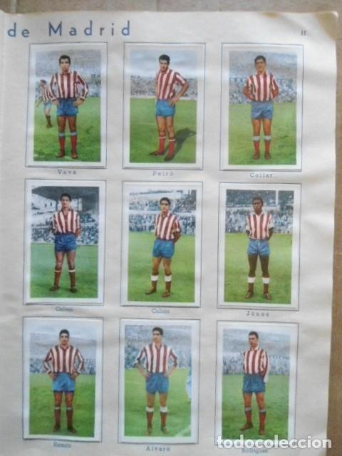 Álbum de fútbol completo: ALBUM COMPLETO FUTBOL 1960/61 EDITORIAL FERCA,EN EXCELENTE ESTADO - Foto 14 - 33343843