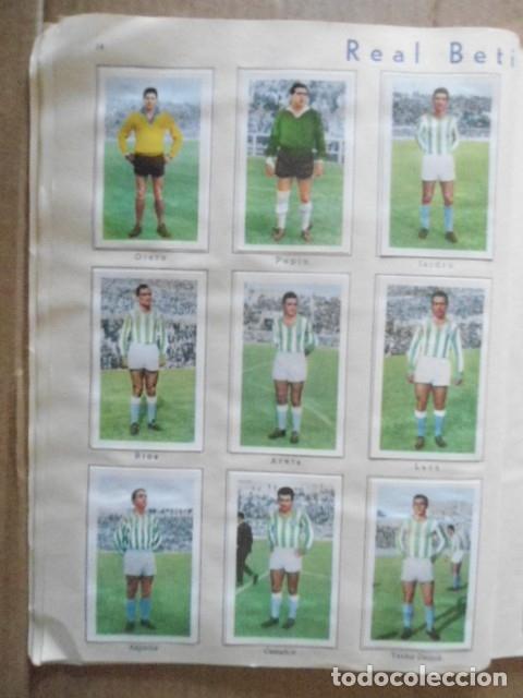 Álbum de fútbol completo: ALBUM COMPLETO FUTBOL 1960/61 EDITORIAL FERCA,EN EXCELENTE ESTADO - Foto 17 - 33343843