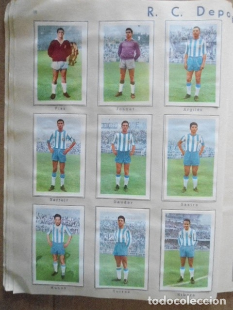Álbum de fútbol completo: ALBUM COMPLETO FUTBOL 1960/61 EDITORIAL FERCA,EN EXCELENTE ESTADO - Foto 19 - 33343843