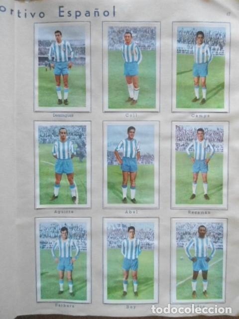 Álbum de fútbol completo: ALBUM COMPLETO FUTBOL 1960/61 EDITORIAL FERCA,EN EXCELENTE ESTADO - Foto 20 - 33343843