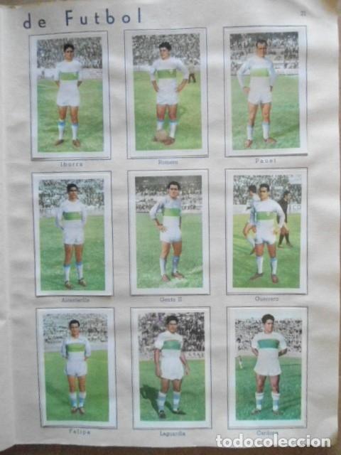 Álbum de fútbol completo: ALBUM COMPLETO FUTBOL 1960/61 EDITORIAL FERCA,EN EXCELENTE ESTADO - Foto 24 - 33343843