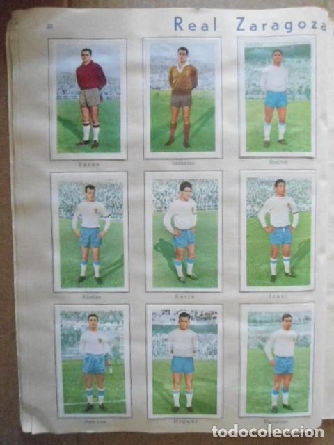 Álbum de fútbol completo: ALBUM COMPLETO FUTBOL 1960/61 EDITORIAL FERCA,EN EXCELENTE ESTADO - Foto 25 - 33343843