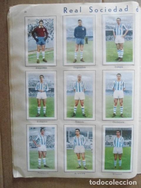 Álbum de fútbol completo: ALBUM COMPLETO FUTBOL 1960/61 EDITORIAL FERCA,EN EXCELENTE ESTADO - Foto 31 - 33343843