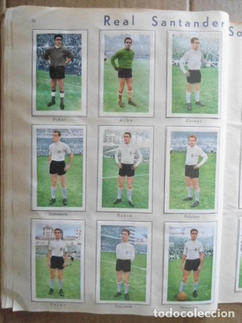 Álbum de fútbol completo: ALBUM COMPLETO FUTBOL 1960/61 EDITORIAL FERCA,EN EXCELENTE ESTADO - Foto 33 - 33343843