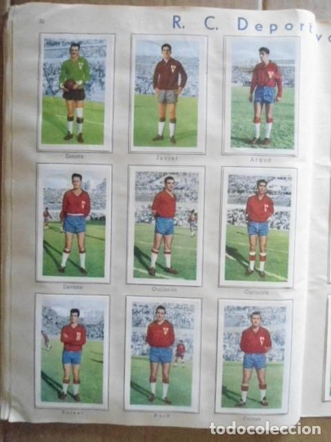Álbum de fútbol completo: ALBUM COMPLETO FUTBOL 1960/61 EDITORIAL FERCA,EN EXCELENTE ESTADO - Foto 35 - 33343843