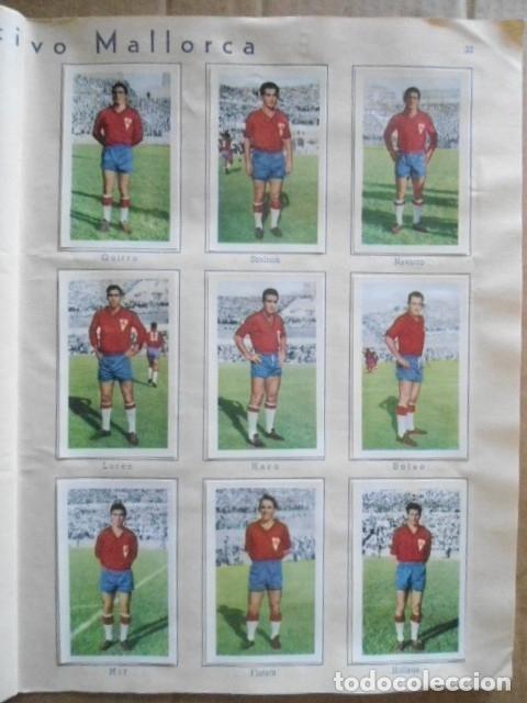 Álbum de fútbol completo: ALBUM COMPLETO FUTBOL 1960/61 EDITORIAL FERCA,EN EXCELENTE ESTADO - Foto 36 - 33343843
