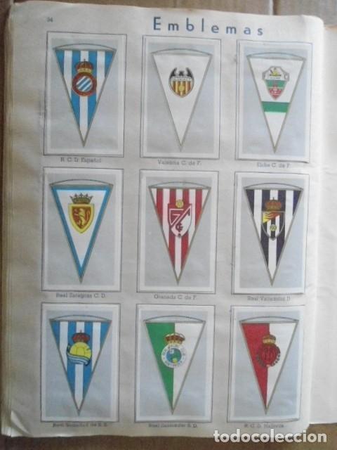 Álbum de fútbol completo: ALBUM COMPLETO FUTBOL 1960/61 EDITORIAL FERCA,EN EXCELENTE ESTADO - Foto 37 - 33343843