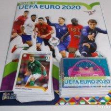 Album de football complet: COLECCION COMPLETA ALBUM VACIO + SET 476 CROMOS ROAD TO EURO 2020 PANINI. Lote 195851570