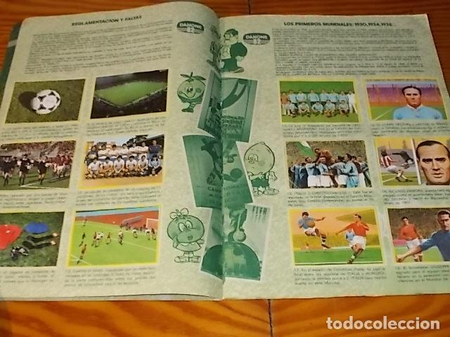 Álbum de fútbol completo: ÁLBUM DE CROMOS FÚTBOL EN ACCIÓN. DANONE 82 . COMPLETO. 96 CROMOS. 1981. UNA JOYA!!! - Foto 3 - 181438253