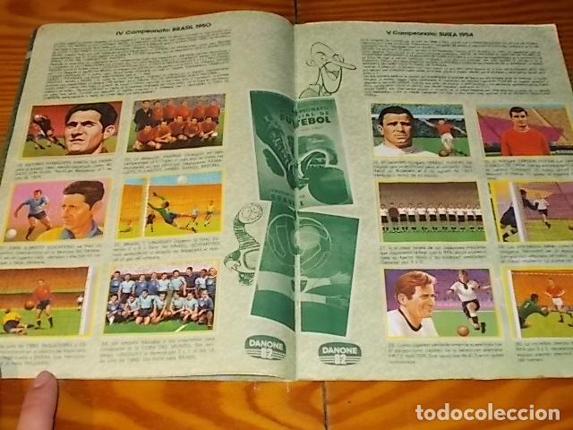Álbum de fútbol completo: ÁLBUM DE CROMOS FÚTBOL EN ACCIÓN. DANONE 82 . COMPLETO. 96 CROMOS. 1981. UNA JOYA!!! - Foto 4 - 181438253