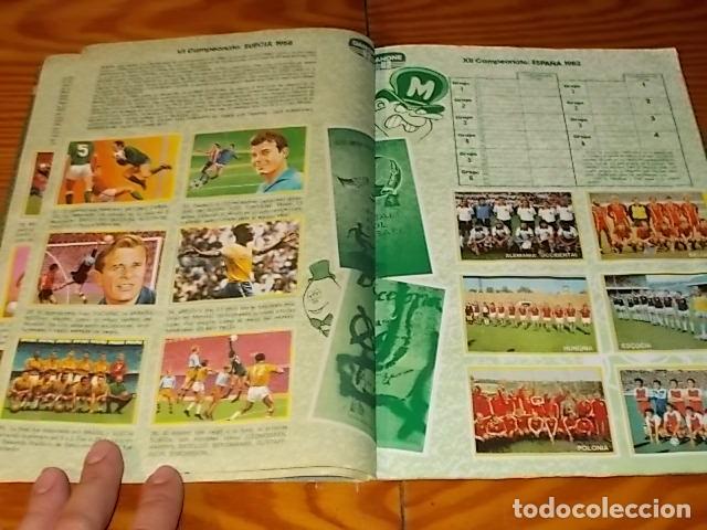 Álbum de fútbol completo: ÁLBUM DE CROMOS FÚTBOL EN ACCIÓN. DANONE 82 . COMPLETO. 96 CROMOS. 1981. UNA JOYA!!! - Foto 5 - 181438253