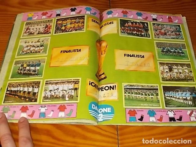 Álbum de fútbol completo: ÁLBUM DE CROMOS FÚTBOL EN ACCIÓN. DANONE 82 . COMPLETO. 96 CROMOS. 1981. UNA JOYA!!! - Foto 6 - 181438253