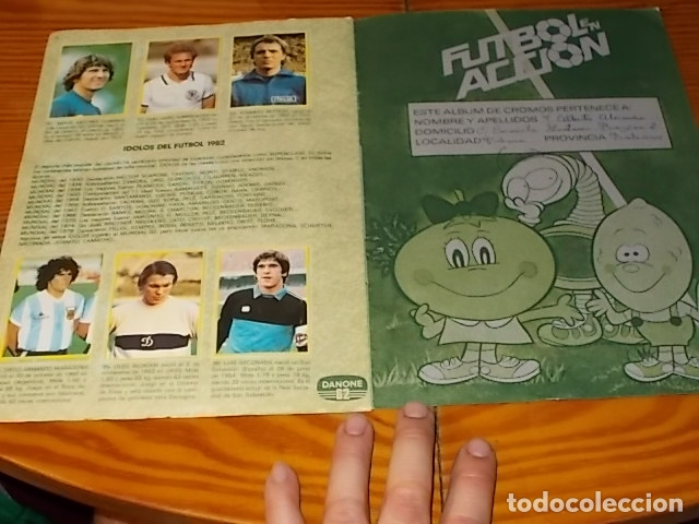 Álbum de fútbol completo: ÁLBUM DE CROMOS FÚTBOL EN ACCIÓN. DANONE 82 . COMPLETO. 96 CROMOS. 1981. UNA JOYA!!! - Foto 10 - 181438253